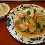 桂林 - 料理写真:中華揚げ麺