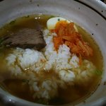 六盛 - ゴマ油の利いた「温麺」にライス・イ~ン!お味はコムタン・クッパ