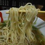 六盛 - 中華そばは中加水細ストレート麺