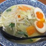 麺屋 双葉 - 鶏白湯タンメン