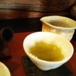 茶々工房 - 桜の柄になる湯飲みがかわいい。天雅という煎茶
