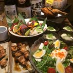 わんぱく酒場 鶏太 - コース料理