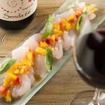 シンプルキッチン - 鮮魚のかつパッチョ