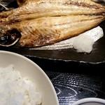 34740163 - 焼き魚は鯵干物