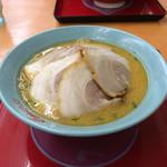 くるまやラーメン - 味噌チャーシュー