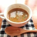 34741733 - ランチのスープ♪(ミネストロ)