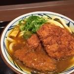 丸亀製麺 - Wカツカレーうどん 並 2015/2