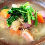 ラトリエ・ドゥ・メゾン・ドゥ・カンパーニュ - 塩豚とキャベツの煮込み。