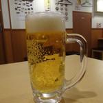 34742793 - 生ビールは一番搾り