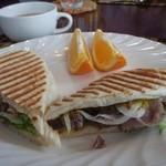 はやま温泉 コージーイン - 料理写真:朝食 パニーニ