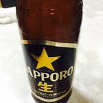 李朝園 - 瓶ビール(でかい!)