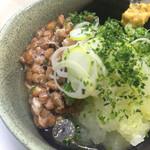 東ぎく - おろし納豆