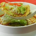 中国料理 龍 - 料理写真:酸辣湯餃子