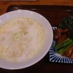 34746462 - SOUL鶏白湯麺(塩)