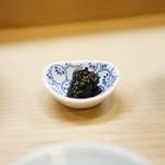 """鮨一新 - これが激ウマ""""自家製海苔の佃煮"""""""