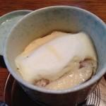 蛇乃目鮨 - はんぺん入り茶碗蒸