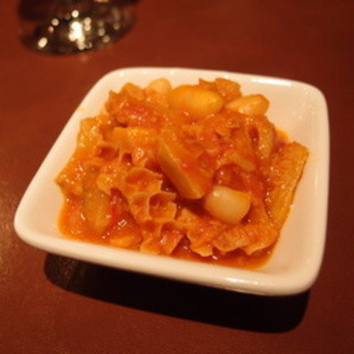 ご存知!!トリッパと白隠元豆のトマト煮が食べ放題です!