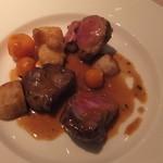 ハシモト - 子羊もも肉のロースト、バジリコ風味