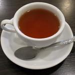 ボンボンカフェ - アールグレイ(フレンチトーストのドリンクセットで\310、2014年12月)