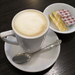 ボンボンカフェ - キャラメル豆乳ラテ(\410、2014年12月)