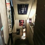 34749934 - 地下へ降りる階段