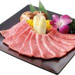 大陸食道 - 料理写真:黒毛和牛A5,A4カルビをリーズナブルにご提供。