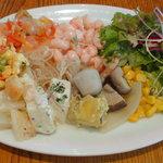 トラットリア&ピッツェリア ザザ - 前菜・サラダ