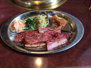 焼肉 えん - カルビ定食