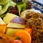 食堂ハタケタナカ - ドライカレーのアップ