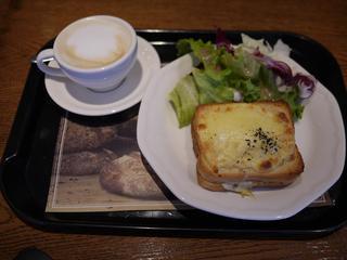 PAUL 京都三条店 - クロックムッシュセット 756円