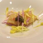 AU GAMIN DE TOKIO - 毛蟹とトマトのコンソメジュレ 焦がしバターと蟹みそソース (2015/01)