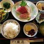 綾花 - 料理写真:刺身盛合せ定食 980円