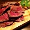熟成本鮪と熟成黒毛和牛A5と熟成鹿肉の食べ比べ!魚せん - 料理写真: