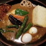 ラマイ - 大盛りのスープ・具