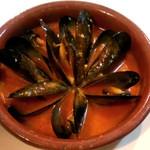 セルベセリア・グランビア - ムール貝のピリ辛ソース煮