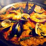 セルベセリア・グランビア - 魚介のパエージャ