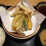 34757143 - H.27.1.27.昼 海鮮天ぷら定食 950円