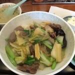 34757350 - 牛肉のうま煮丼