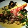 モダンタイムス - 料理写真:たらば蟹のブイヤベースクリームソースパスタ