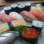 やなぎ寿司 - にぎり寿司ランチ