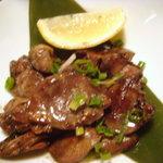 九州黒太鼓 - さつま知覧鶏のゴロ焼き(ハツ)