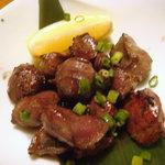 九州黒太鼓 - さつま知覧鶏のゴロ焼き(砂肝)