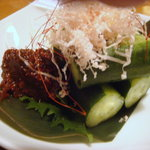 九州黒太鼓 - 鶏味噌きゅうり