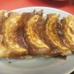 34761359 - ジャンボ餃子は、たっぷりのアンでジューシーで美味しいです