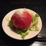 はまぐり屋 - トマトサラダ