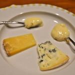 リョウリヤ ステファン パンテル - <2015年2月>チーズ盛り合わせ。