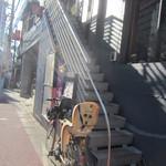 ビストロ K - お店への階段