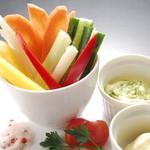 Vano - 特製バジルマヨネーズの野菜スティック