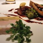 AKI NAGAO - 【2014年12月21日】フォアグラと安納芋と穴子のテリーヌ