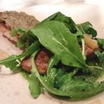 AKI NAGAO - 【2015年01月16日】フォアグラのサラダと、茄子ペーストのバケット